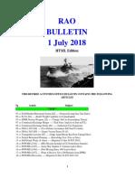 Bulletin 180701 (HTML Edition)