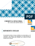 4. Cinemática rotacional.