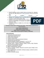 Anexo III - Conteúdo Programático Eptc