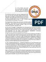 What is DILG