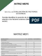 Proyecto Aldor MATRICES