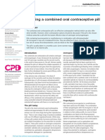 Choosing a Combined Oral Contraceptive Pill