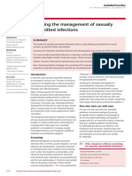 Updating the Management of Sexually Transmitted Infections