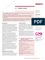 Treating Hepatitis C – What's New
