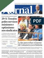 Xornal de Galicia - 29 septiembre 2010