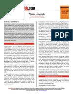 [PD] Libros - Nunca coma solo-resumen.pdf