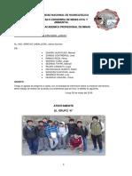 Informe de Geologia Estructural Casi Listo