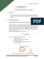 LAB Nº 4-Campo Magnético Generado en Una Bobina-FII-2018-2