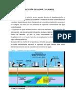Inyección de Agua Caliente III