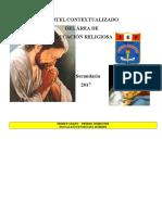 Cartel Contextualizado 2017 de Religion - Divino Maestro