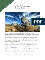 Streng Geheim - Die Anlage in Den Rumänischen Bucegi-Bergen