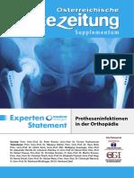 Experten Statement Protheseninfektionen in Der Orthopaedie 2008