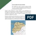 Países Que Surgieron de La Gran Colombia
