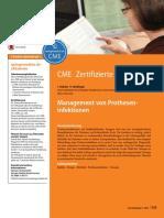 Management VonProtheseninfektionen