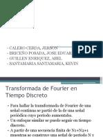 Series de Fourier de Señales Discretas y Aplicaciones(1)