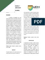 Artículo Científico de Investigación Innovacion empresarial y segmentación de mercados