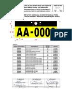 Emd 02.055 - Placa de Identificacao Para Os Equipamentos Na Rda 2a. Ed