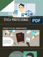 ÉTICA PROFECIONAL-códogo Administrativo