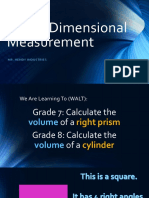 three-dimensional measurement