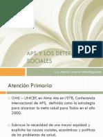 APS y Determinantes Sociales