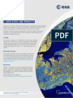 Sentinel-1 Data Access and Products
