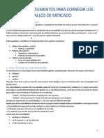 Tema 3 Instrumentos Para Corregir Los Fallos de Mercado
