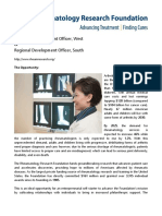 Rheumatology Research Foundation Background (July2018)