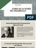 Precursores de La Teoría Del Desarrollo