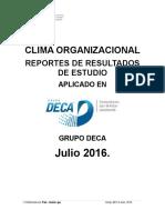 Clima Laboral Grupo Deca
