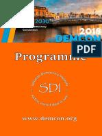 Programme Online V2