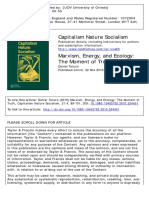 Daniel Tanuro - Marxism Energy and Ecology