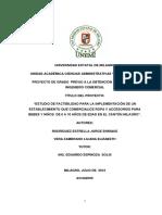 Estudio de factibilidad para la implementación de un establecimiento que comercialice ropa y accesorios para bebes y niños de 0 a 10 años de edad en el cantón Milagro.pdf