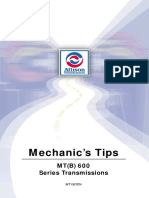 Allison MT(B)600 Series Transmissions Service Manual PDF.pdf