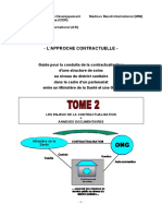 CIDR-ASI-MMI 2003 Guide Contractualisation Ministere ONG Tome 2