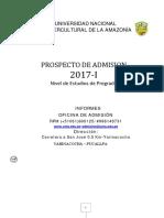 4.5.1.Reglamento de Admisión 2017-I