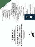 NYE Jr. Joseph S. Cooperação e Conflito Nas Relações Internacionais - Cap. 5