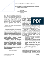 Human-Machine Interface-Design Principles of Visual Information in HumanMachine
