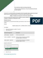 Funciones Lógicas en Excel
