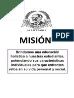 Misión - Cox
