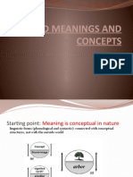 11 Word Meanings and Concepts Internal Structure of Categories