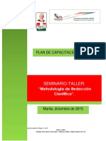 Estructura Programa Seminario Capacitación Final