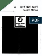 Allison 3531 3630 Service Manual