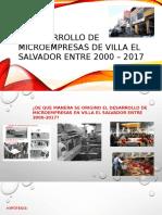 El Desarrollo de Microempresas de Villa El Salvador
