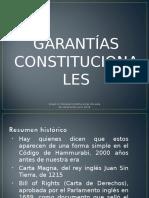 Presentación Garantías Constitucionales