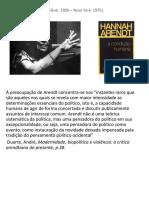 Ação Política_Hanna Arendt