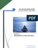 Taller de Meditación - Módulo 1 - Mejorando la Postura Física - Reduced