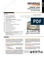 Generac Spec Sheet 9kw and 11kw