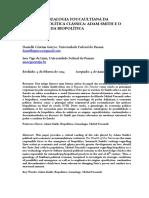 Por Una Genealogia Foucaultiana de La Economia Politica Clasica