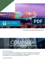 Catalogo Nuskin 2018
