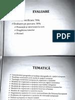 curs Modele europene de organizare a spatiului